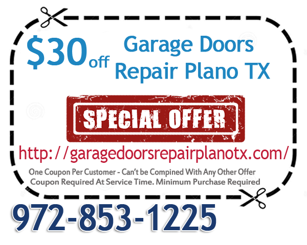 Garage Doors Repair Plano TX Coupon
