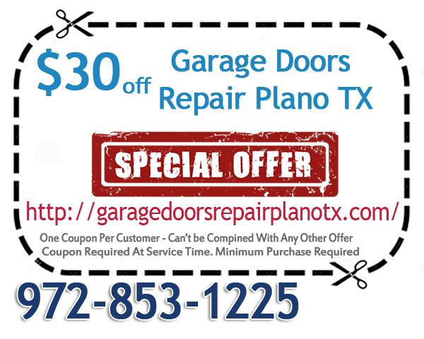 Garage Doors Repair Plano TX Coupon